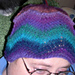 Melinda's Chevron Hat pattern
