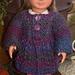"18"" Doll Cardigan & Hat pattern"
