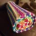 V Stitch Blanket pattern