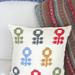 Scandinavian Flower Cushion pattern