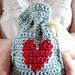 Valentine's Day Gift Bag pattern