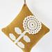 Mustard Flower Cushion pattern