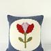 Retro Tulip Cushion pattern