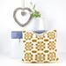 Welsh Blanket Cushion pattern