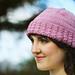 Twisted Rib Hat pattern