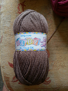 King Cole Big Value Baby DK Yarn Double Knit with a Twist Weight 100g Wool