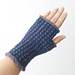 Graph Paper Mitts pattern