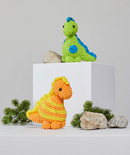 How to Crochet a Triceratops Dinosaur || Amigurumi Pattern ... | 320x267