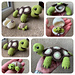 Tortoise and Hatching Baby pattern