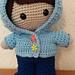 Weebee Doll - Hoodie pattern