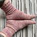 Socks in a Cinch pattern
