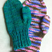 No Swatch, No Gauge Bulky Mittens pattern