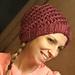 Spiral Slouchy Hat pattern