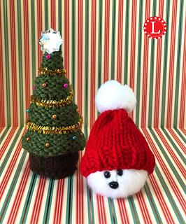 Tiny Christmas.Loom Knit Christmas Tree Pattern By Denise Canela