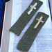 Embroidered Cross Bookmarks pattern