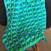 Wild Fan Blanket pattern