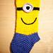 Minion Christmas Sock/Stocking pattern