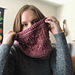 Marionberry Cowl pattern