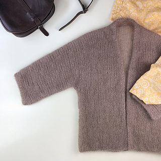 KIM Cardigan pattern by Tanja Koenigs