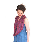 Long cowl, shown in Peony