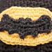 Crocheted Batman Logo pattern