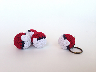 Free Pokeball Crochet Amigurumi Pattern - Little Bear Crochets | 240x320