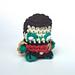 Robin Amigurumi Keychain Miniature Doll pattern