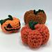Pumpkin / Jack-o-lantern Amigurumi pattern