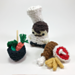 Chef Amigurumi Finger Puppet pattern