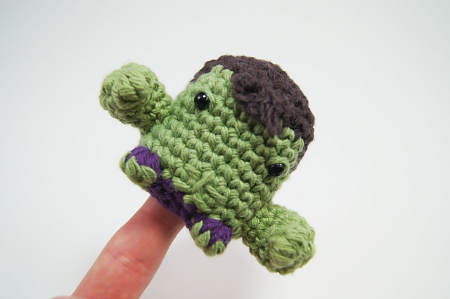 Incredible Hulk is my toy of the day. 😊💪👻💚 Crochet pattern is ... | 426x640