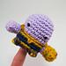 Thanos Amigurumi Finger Puppet pattern