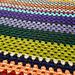 Scrappy Happy Granny Stripe Blanket pattern