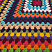 Giant Granny Square Afghan pattern