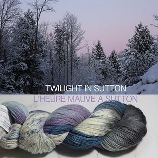Exclusive Twilight Colorway by Artyarns for Mont Tricot