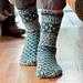 French Market Socks pattern