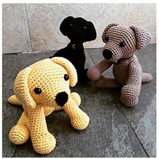 Crochet Labrador Amigurumi Project: British Wool | TOFT | 320x320