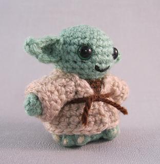 Star Wars Mini Amigurumi - Yoda | I've been working on these… | Flickr | 320x312