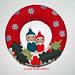 Ciambella fuoriporta natalizia pattern