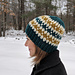 Winter Stripes Hat pattern