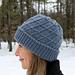 Crosscut Hat pattern
