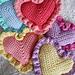Ruffle Hearts pattern