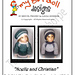 """Kidz'n'Cats ~ """"Noelle and Christian"""" Slip Stitch Sweater Sets pattern"""
