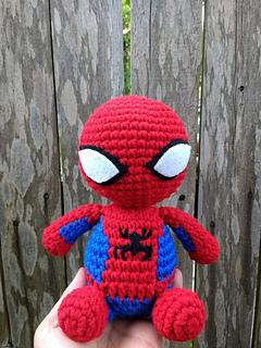 Spider-Man Amigurumi Doll Crochet Patterns Ideas Free Free crochet ... | 320x240