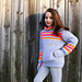 Silver and neon sweater 269 pattern