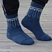 """Anchored"" Socks pattern"