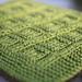 Green Mama Squares blanket pattern