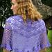 Violet's Garden Shawl pattern
