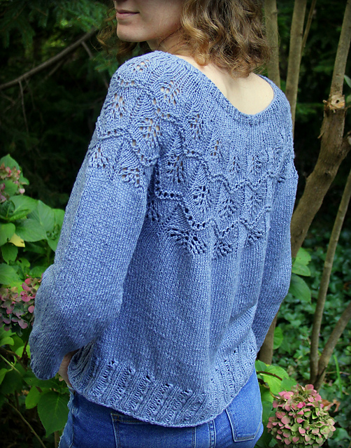 Indie Design Gift Along 2020 Sweater Favourites - Ginko Sweater by Michele NuNaier