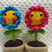 Flower Pot Desk Buddies pattern