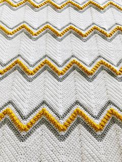 Drops of Heaven Chevron close up of pattern